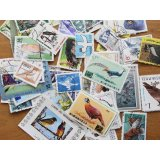 鳥切手20枚入りパケット
