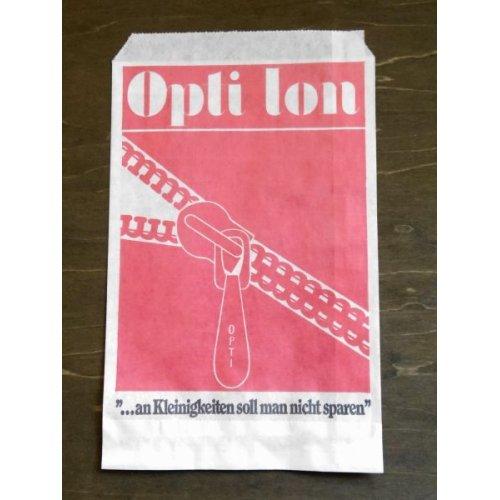 他の写真1: ドイツ ヴィンテージ 手芸店の紙袋 OPTI-ION
