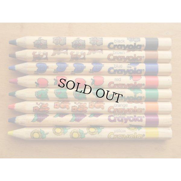 画像2: Crayola クレオラ かわいい絵柄の色えんぴつ8色