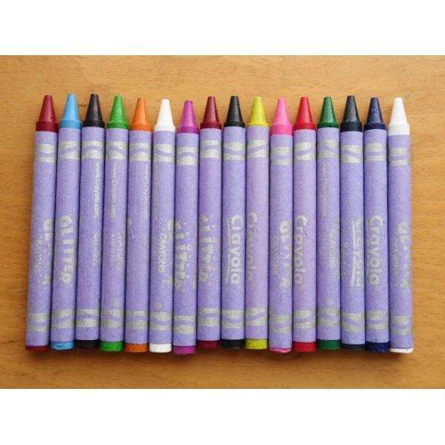 他の写真1: Crayola ラメラメクレヨン 16色