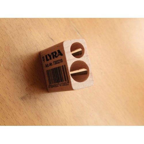 他の写真2: LYRA リラ 木製2穴ミニ鉛筆削り