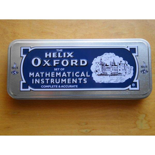 画像3: ★再入荷★Helix へリックス OXFORD 缶入り定規&コンパスセット