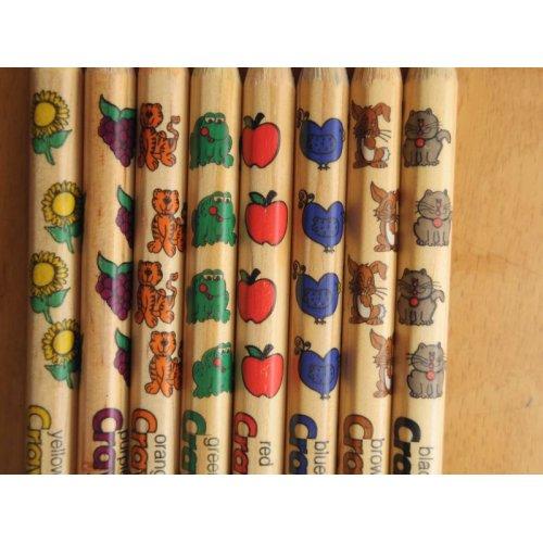 他の写真3: Crayola クレオラ かわいい絵柄の色えんぴつ8色