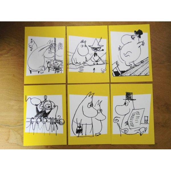 画像3: フィンランド:ムーミン'09切手&ポストカードセット