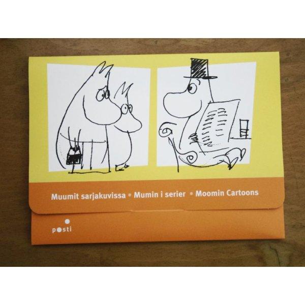 画像1: フィンランド:ムーミン'09切手&ポストカードセット