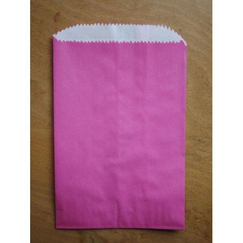 他の写真2: アメリカ カラーグラシン紙袋 (ピンク)