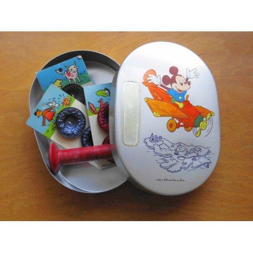 他の写真1: 昭和レトロ アルミのお弁当箱 ミッキーマウス