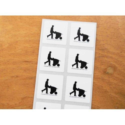 他の写真1: ★再入荷★フィンランド郵政カートデザインステッカー 10枚シート
