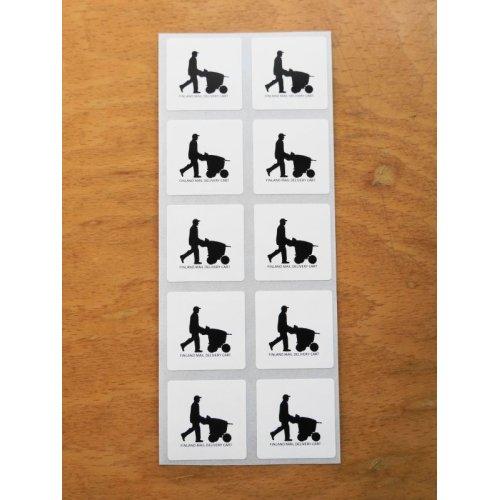 他の写真3: ★再入荷★フィンランド郵政カートデザインステッカー 10枚シート