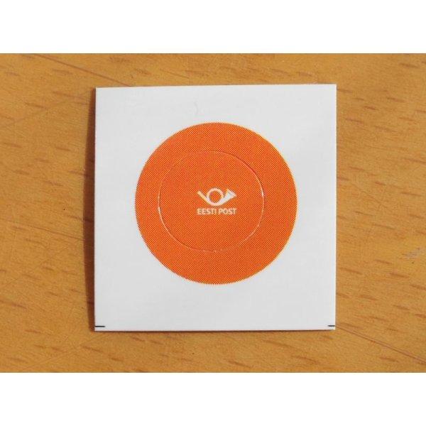 画像2: ★再入荷★エストニア郵政ステッカー(丸型10mm) 5枚セット