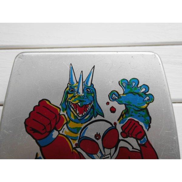画像3: 昭和レトロ アルミのお弁当箱 ファイヤーマン