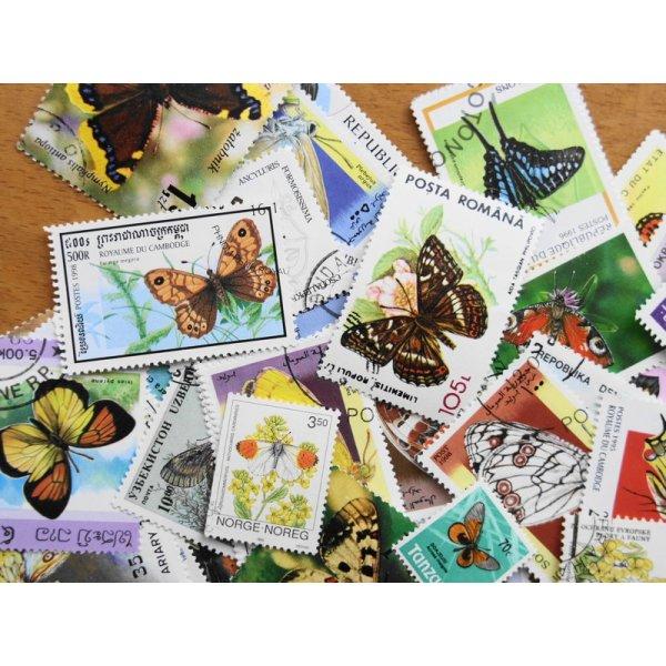 画像2: 蝶切手20枚入りパケット