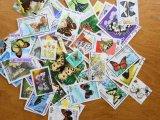 蝶切手20枚入りパケット