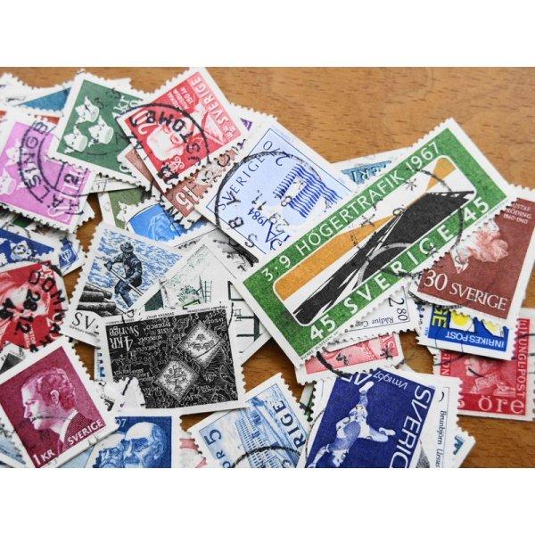 画像2: スウェーデン切手20枚入りパケット