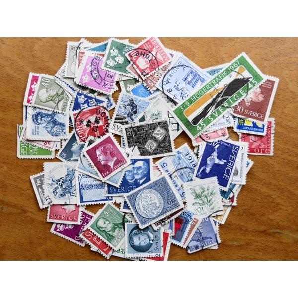 画像1: スウェーデン切手20枚入りパケット