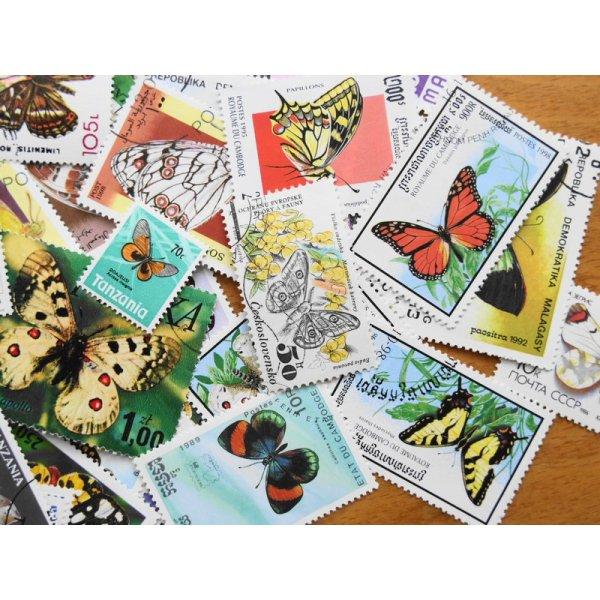 画像3: 蝶切手20枚入りパケット