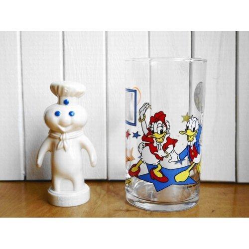 他の写真1: 昭和レトロ ファンタ ディズニー不思議グラス ドナルド&デイジー