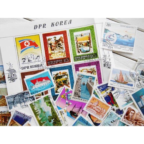 画像2: 船切手20枚入りパケット
