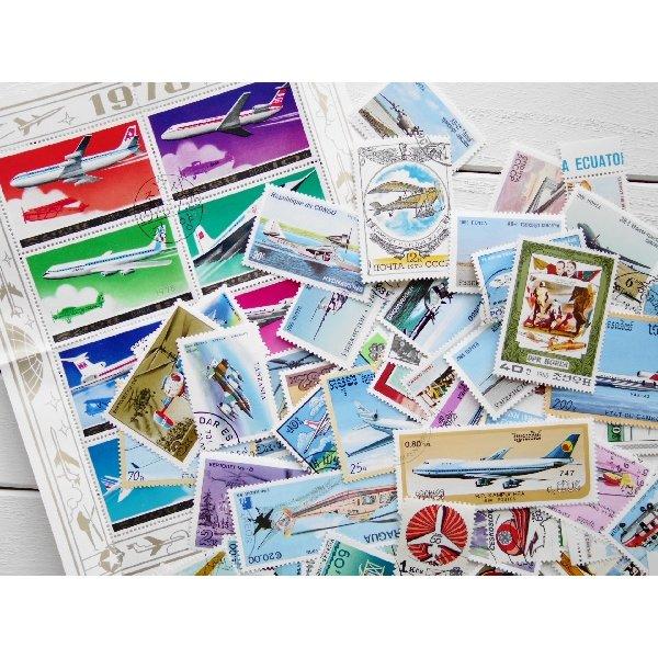 画像2: 飛行機切手20枚入りパケット
