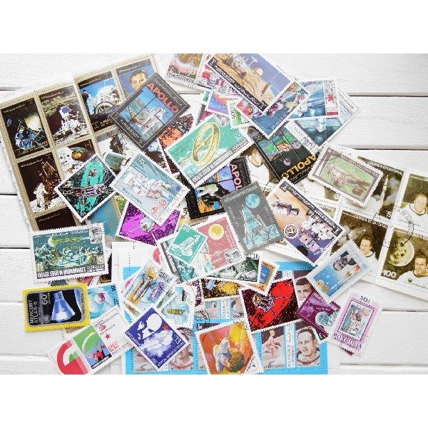 画像1: 宇宙切手20枚入りパケット