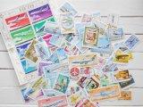 飛行機切手20枚入りパケット