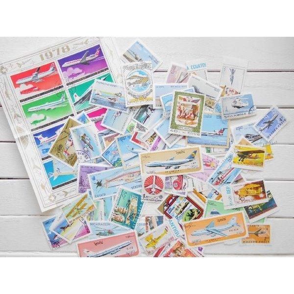 画像1: 飛行機切手20枚入りパケット