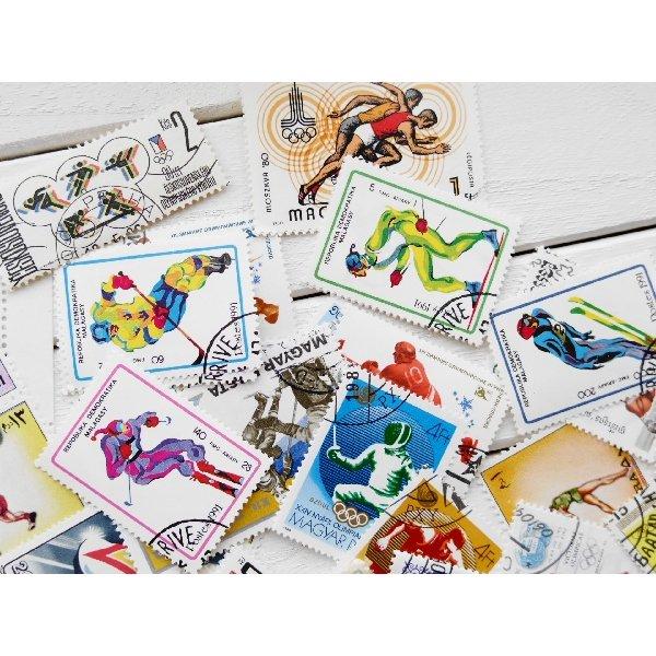 画像4: オリンピック切手20枚入りパケット