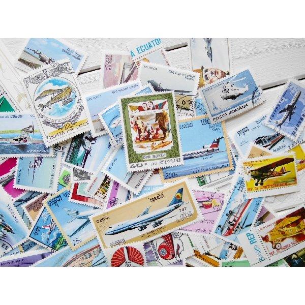 画像5: 飛行機切手20枚入りパケット