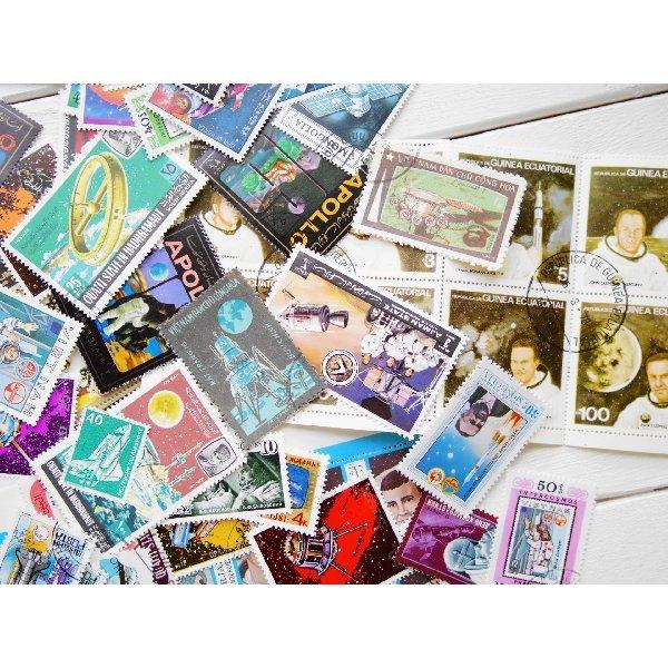 画像3: 宇宙切手20枚入りパケット