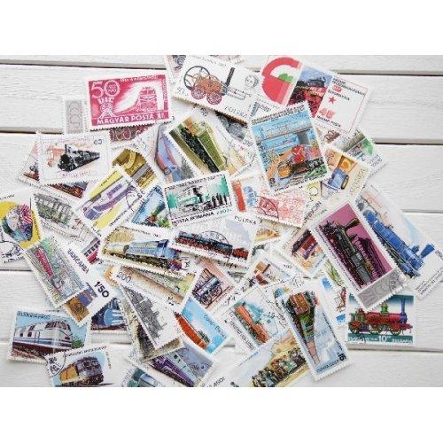 他の写真1: 鉄道切手20枚入りパケット