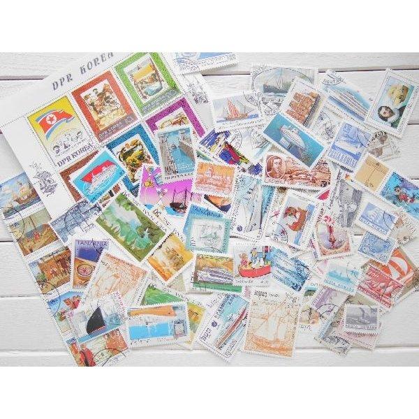 画像1: 船切手20枚入りパケット