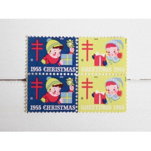 他の写真1: アメリカクリスマスシール'55
