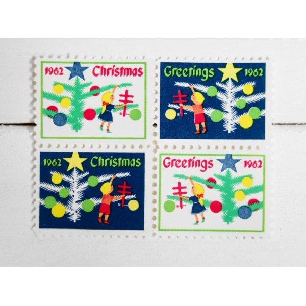 画像1: ★再入荷★アメリカ クリスマスシール'62