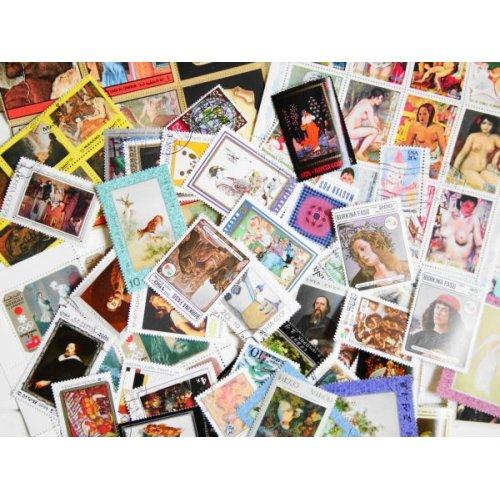他の写真1: 絵画切手20枚入りパケット