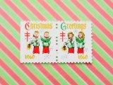 アメリカ クリスマスシール1960