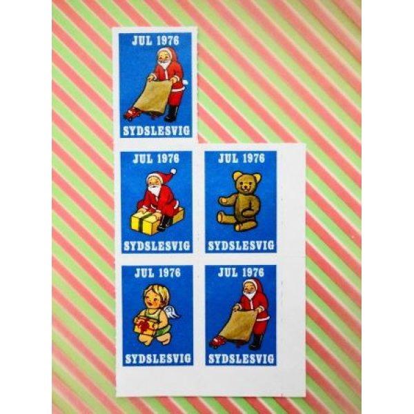 画像1: デンマーク クリスマスシール1976