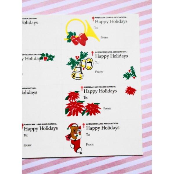 画像5:  アメリカクリスマスシール'96 オーナメントシート12枚