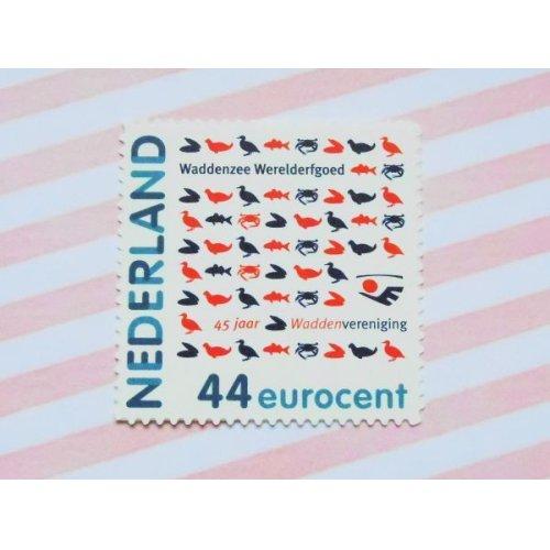 他の写真1: オランダ:Pスタンプ ワッデン海協会