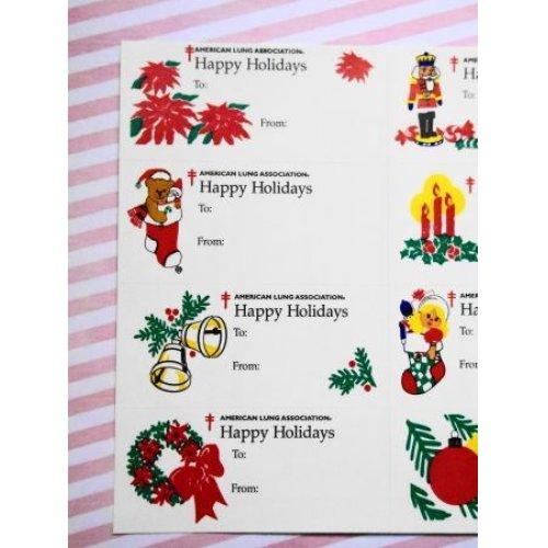 他の写真1:  アメリカクリスマスシール'96 オーナメントシート12枚