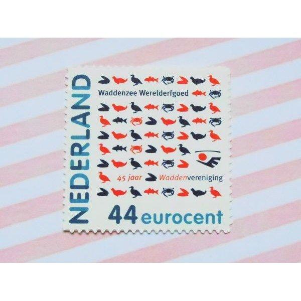 画像1: オランダ:Pスタンプ ワッデン海協会