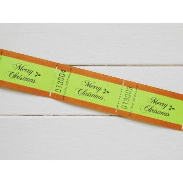 画像2: ドイツのチケット (MERRY CHRISTMAS)5枚