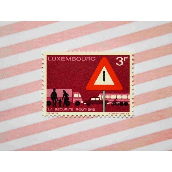 画像1: 【SALE】ルクセンブルク:交通安全