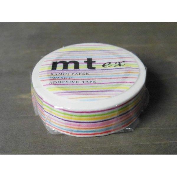 画像1: mtex 色えんぴつ・ボーダー