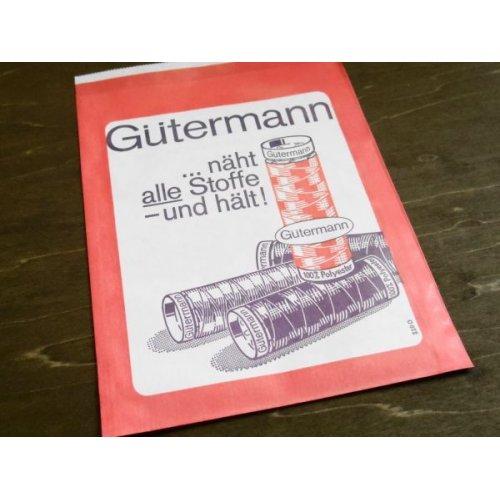 他の写真3: 東ドイツ ヴィンテージ 手芸店の紙袋 赤