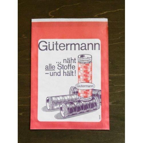 他の写真1: 東ドイツ ヴィンテージ 手芸店の紙袋 赤