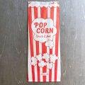 アメリカ ポップコーン袋 クラフト紙 5枚セット